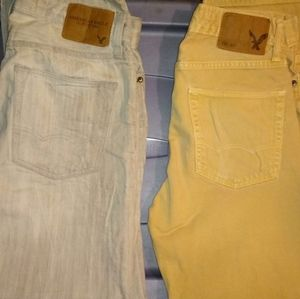 Bundle of 2 American Eagle Jeans